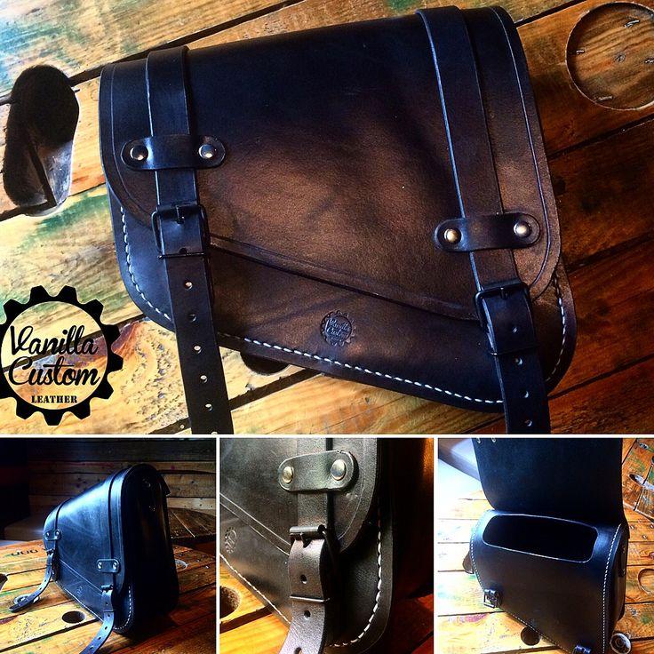 Vanilla Custom Leather #vanillacustom #vanillacustomleather #vcl #gdansk  #harley #bobber #saddlegab #sportster