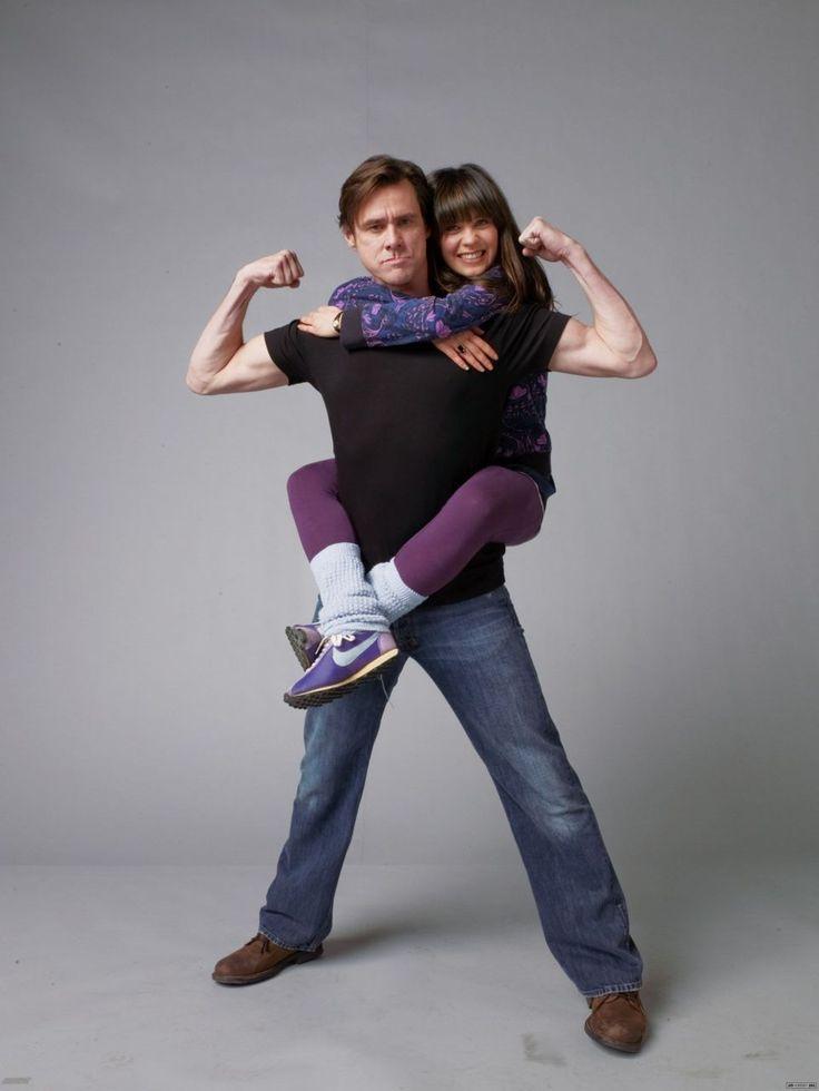 Jim Carrey and Zooey Deschanel