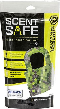 HUNTERS SPECIALTIES INC HS Scent-Safe Storage Bag, EA