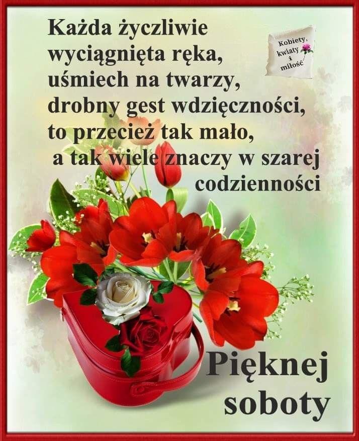 Pin By Wanda Swoboda On Sobota Good Morning