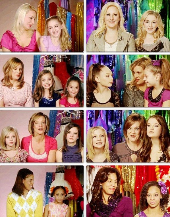 The girls interviews then and now! They grow up too fast! And even the moms have changed!!