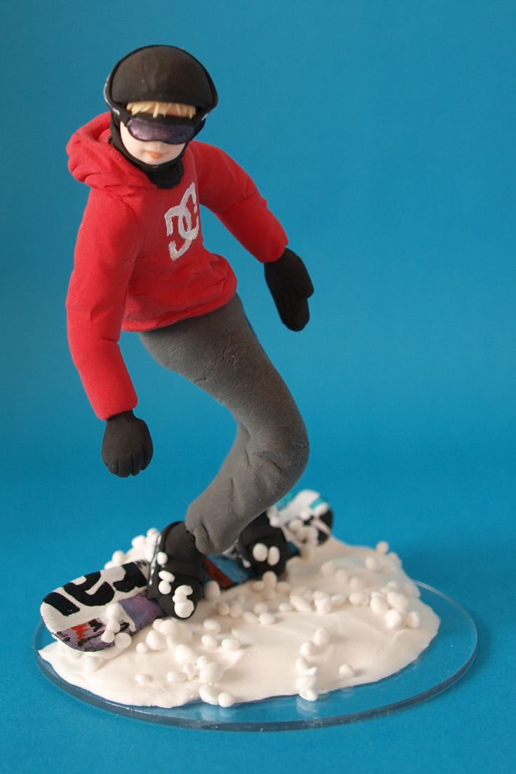 Snowboard Cake Topper Uk