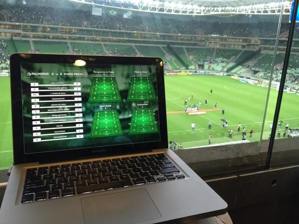 @SEPalmeiras Game day #SportsCode solution #Paulistao2015