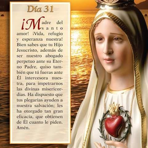 Mayo 31 Mes de nuestra Santisima Virgen Maria