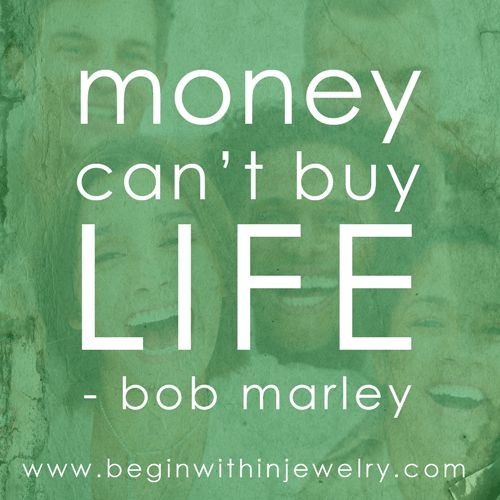 Bob Marley's last words to his son, Ziggy.