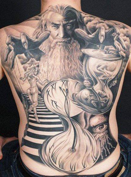 Tattoo Artist - Andy Engel - time tattoo | www.worldtattoogallery.com