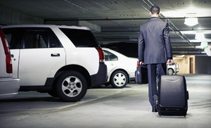 Groupon - 5, 7, or 10 Days of Airport Parking at Airpark IAH (Up to 60% Off) in Houston. Groupon deal price: $15.00