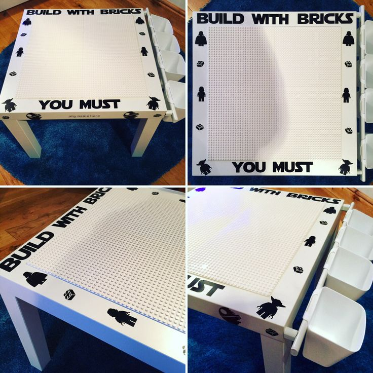 Customised Lego Building table with storage, Lego Desk, Marvel, Batman, Star Wars, Lego , Duplo, Personalised, Christmas in July, by QuirkyConceptions083 on Etsy https://www.etsy.com/uk/listing/476690016/customised-lego-building-table-with