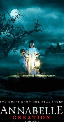 Annabelle Creation Release : 2017-08-09 Runtime : 109 min. Genre : Thriller, Horror Stars : Stephanie Sigman, Alicia Vela-Bailey, Miranda Otto, Anthony LaPaglia, Adam Bartley, Philippa Coulthard Overview : Several years after the tragic death of their little girl, a dollmaker and his wife welcome a nun and several girls from a shuttered orphanage into their home, soon becoming the target of the dollmaker's possessed creation, Annabelle.
