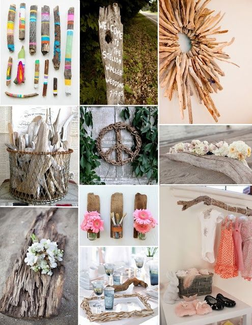 #driftwood #diys for wedding accents!