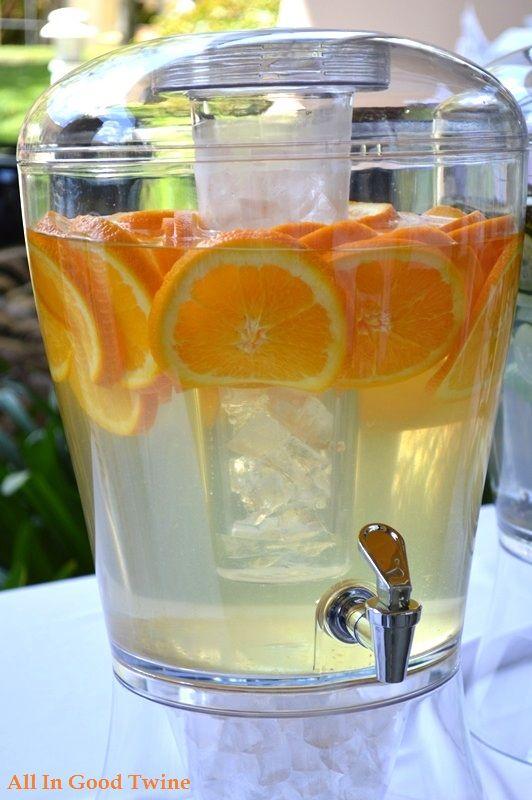 Orange Vanilla infused water recipe