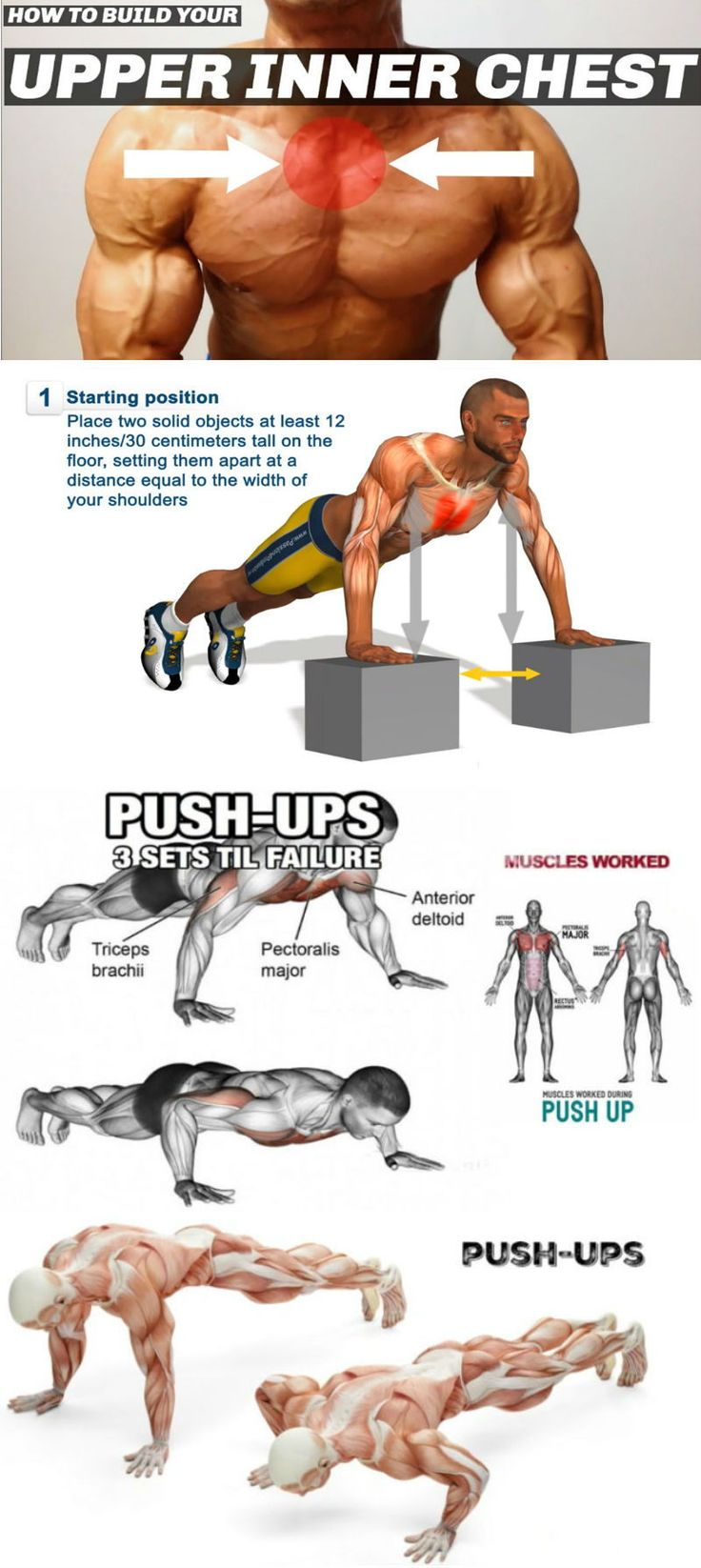 8 Progressive Push-Up Variations To Create Your Best Ever Upper Body Shape