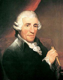 Joseph Haydn- (Rohrau, cerca de Viena, Austria, 31 de marzo de 1732 – Viena, 31 de mayo de 1809) fue un compositor austriaco. Es uno de los máximos representantes del periodo clásico, además de ser conocido como el «padre de la sinfonía» y el «Padre del cuarteto de cuerda» gracias a sus importantes contribuciones a ambos géneros. También contribuyó en el desarrollo instrumental del trío con piano y en la evolución de la forma sonata.2 3