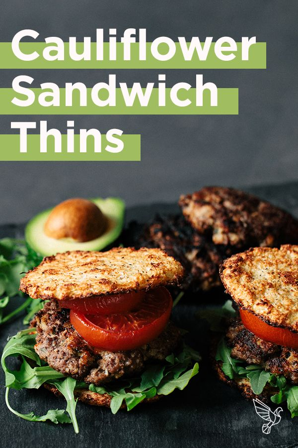 Here's How to Make Your Own Keto Cauliflower Sandwich Thins