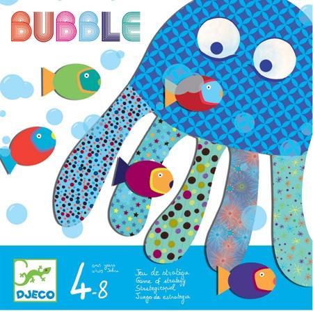 Bubble (Tática) - Idade Recomendada: + 4 anos  Dimensões : 21,5 x 21,5 x 3 cm  Nº de Jogadores: 2 a 4  Tempo de 1 Partida: 15 Minutos      €15.50