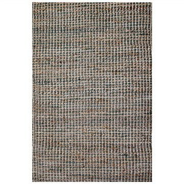 Iris 180x270cm Jute and Cotton Rug - Sage Green/Natural