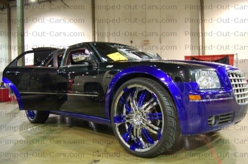 pimped out black truck | ... ride stand out. It's not a harmless car prank , it is a pimped car