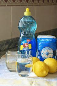 Anna recetas fáciles: LAVAVAJILLAS CASERO (sustituto de las pastillas de lavavajillas)