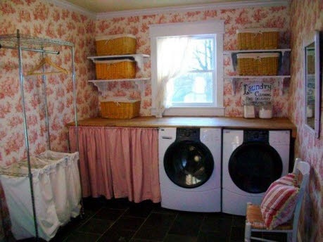 70 best images about shabby chic laundry room decor on pinterest hidden laundry washers and. Black Bedroom Furniture Sets. Home Design Ideas