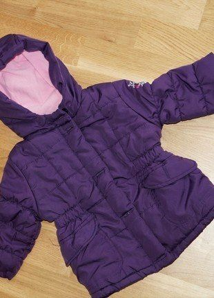 Kaufe meinen Artikel bei #Mamikreisel http://www.mamikreisel.de/kleidung-fur-madchen/outdoorbekleidung-jacken/34741469-winterjacke-lila-74