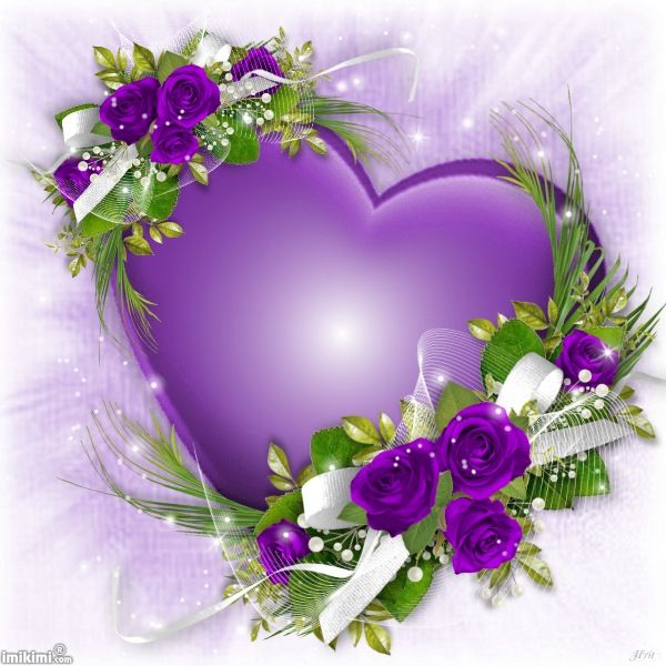 65 best images about imikimi on pinterest purple hearts - Pics of roses and hearts ...