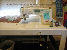 DIY sewing table for your sewing machine
