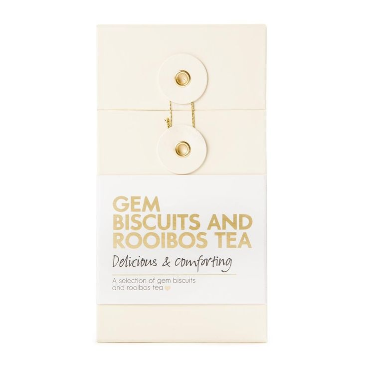 Gem Biscuits & Rooibos Tea
