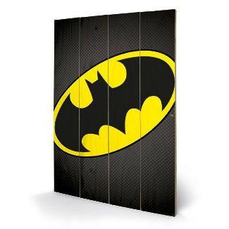 Superhero Art- Batman Wooden Wall Art