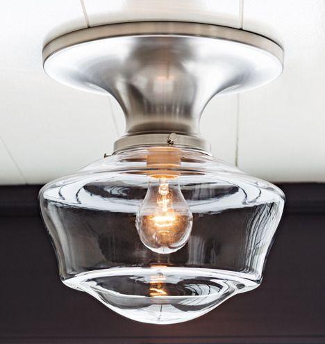 Miles flush mount schoolhouse fixture rejuvenation lighting kitchen design decor