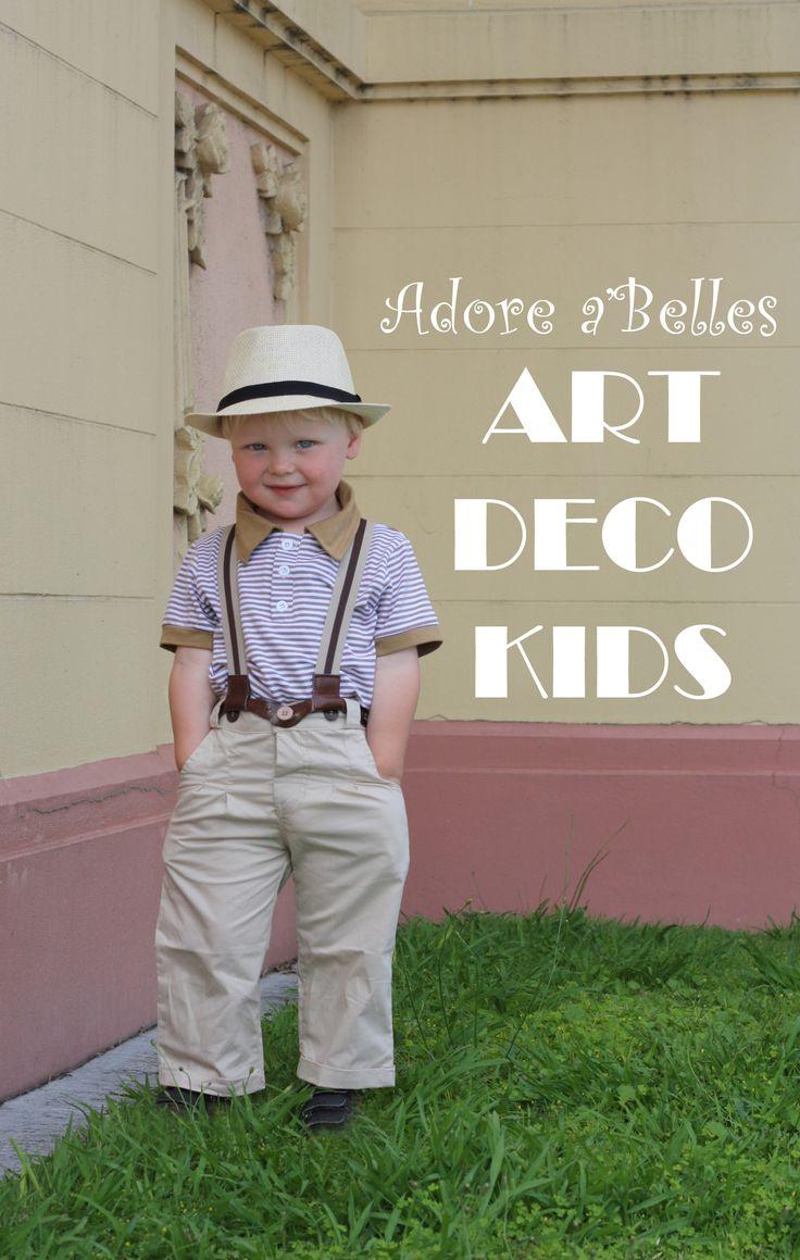 Art Deco Kidswear  www.adoreabelles.co.nz