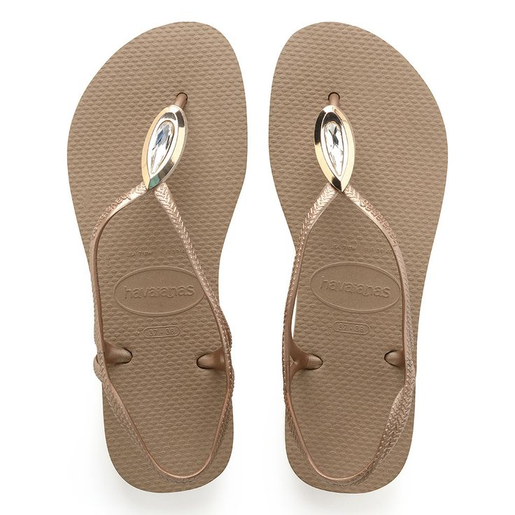 Havaianas Luna Special Sandal Rose Gold/Rose Gold  Price From: 63,17$CA  https://flopstore.ca/ca_french/new-arrivals/havaianas-luna-special-sandal-rose-gold-rose-gold.html