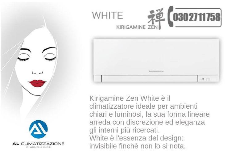 Climatizzatore Kirigamine Zen Mitsubishi Electric WWW.ALCLIMATIZZAZIONE.IT Le tre combinazioni, bianco, nero lucido e argento satinato, permettono di trovare la tonalità che più si adatta al proprio stile.