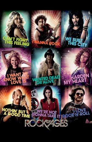 Rock of Ages. I am not ashamed to say I freaking LOVE this movie. Watching it right now :D