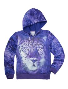 Expressions Tiger Print Hoodie product photo
