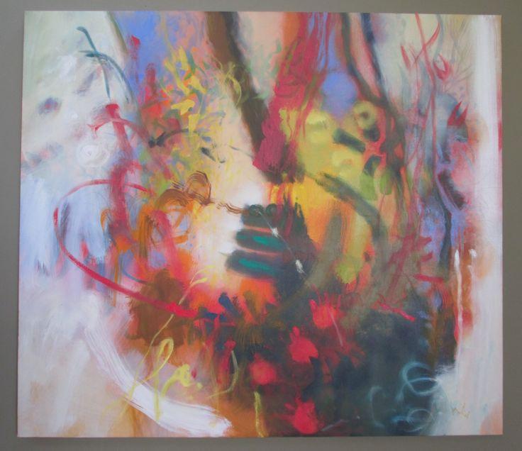 Fuego Óleo sobre lienzo 150 x 170 cms 2005 Colección privada