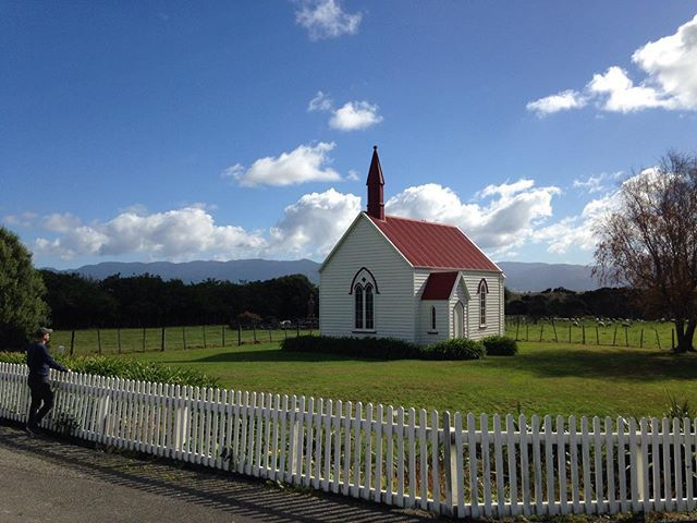 Made it to church this Sunday funday #Wairarapa #NewZealand #itsTime2Go! . . . Contact our #welltravelled #Kiwi #travel #planner today for a #bespoke #trip #designed to suit your #personal #interests #taste #travelling #style and #budget. #newzealandfinds #newzealandguide #newzealandnatural #nz #travelnz #travelnewzealand #travelphotography #travelpics #scenery #roadtrip #discover_newzealand