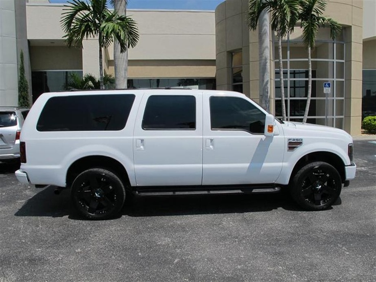 The Guzzling Ford Excursion With Rockstar Rims
