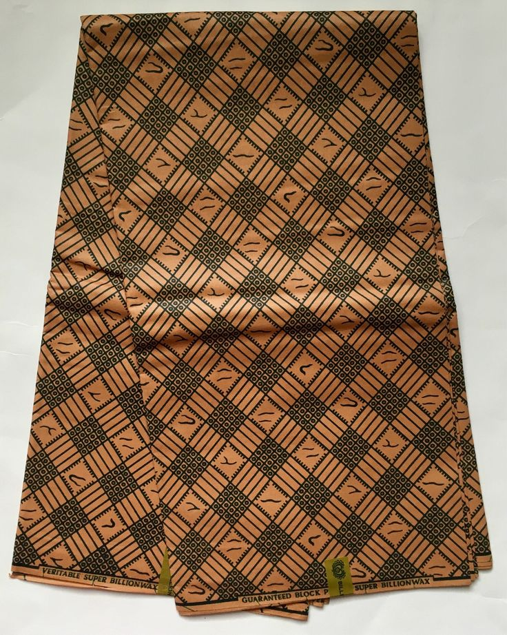 african print fabric ankara light brown green 39 essentials 39 yard or wholesale african. Black Bedroom Furniture Sets. Home Design Ideas