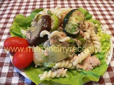 Letní těstovinový salát