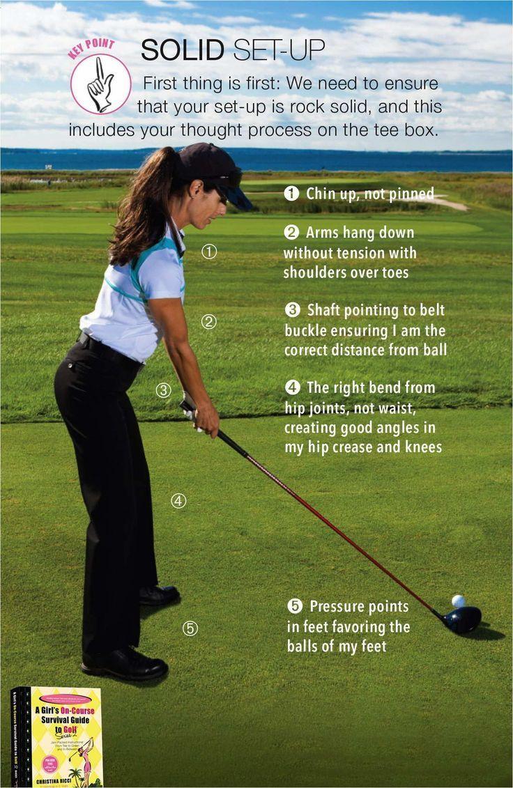 Golf Tips For Women Golfers Golf tips, Golf lessons