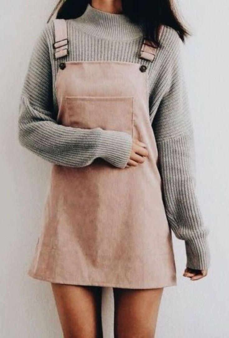 30 süße lässige wintermode-outfits für teenager-mädchen
