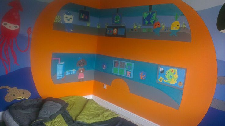 Ready For The Bunk Beds Octonauts Bedroom Bedroom