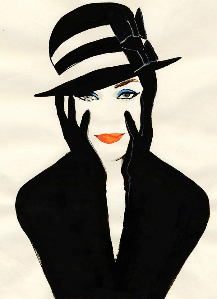 Rene Grau. Fashion illustration