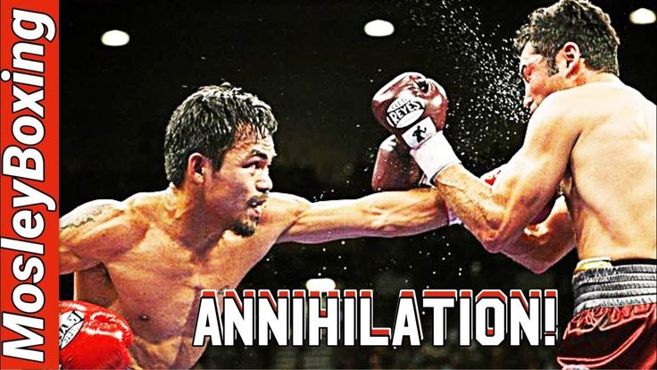 Manny Pacquiao vs Oscar De La Hoya | TOTAL ANNIHILATION | Full Fight Hig...
