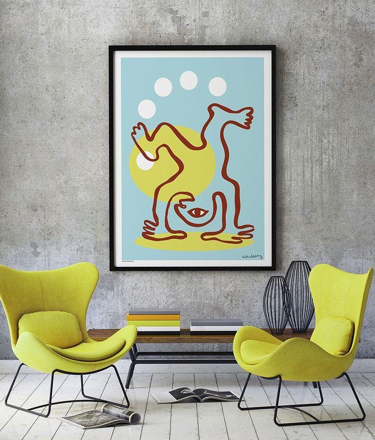 Acrobat Sea Poster 70 x 100 cm - 1