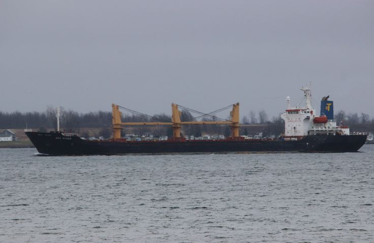 Sea Racer downbound passing Cape Vincent 10:00 in the Islands , safe travels