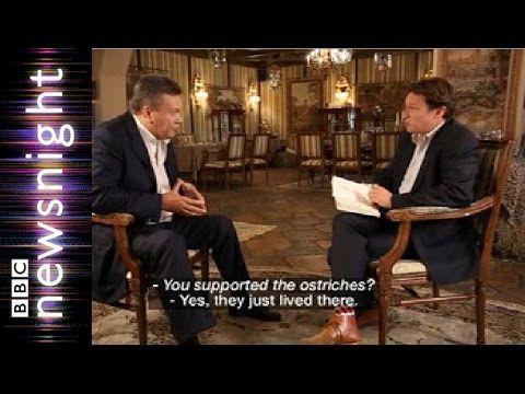 Янукович: Я жил в приватном зоопарке и поддерживал страусов / Интервью 22 июня 2015 года | Free RuTube