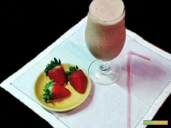 Frullato di frutta fresca  #ricette #food #recipes