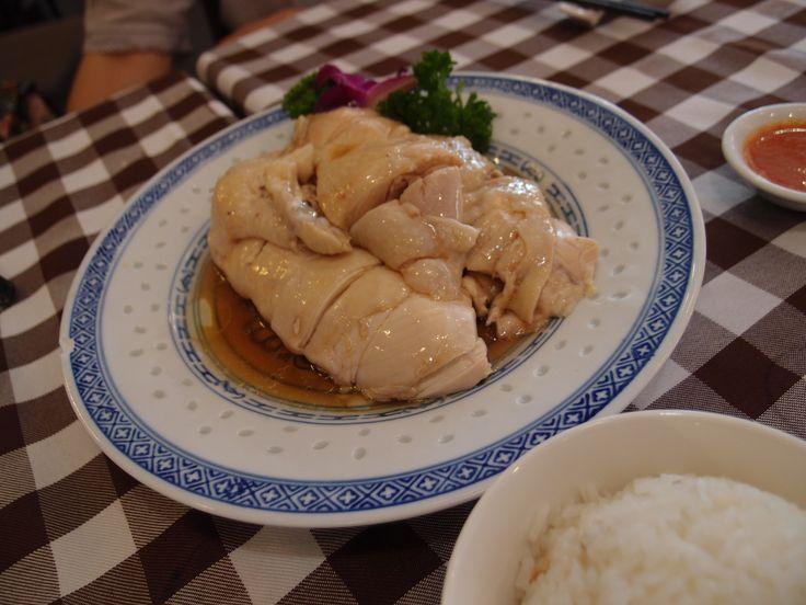 Hainanese Chicken Rice @ Boon Tong Kee, Balestier Road, Singapore, 2014/12