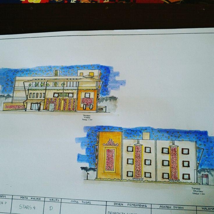 Tampak Hotel Studio Arsitektur 4